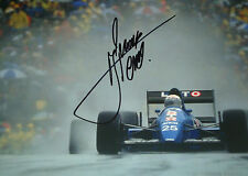 Rene Arnoux SIGNED F1 Ligier-Cosworth JS33, Canadian GP Montreal 1989