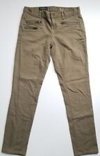J. Crew Toothpick Ankle Skinny Jeans Zippers Sz 26 2 Olive Green