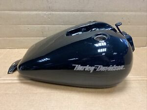 Fuel Tank for Harley Davidson Dyna FXR Evolution Black