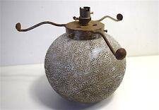 Pied de lampe boule Signé DAUM Nancy Croix de Lorraine Art Déco Art Nouveau