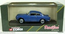 DETAIL 1/43 - ART 362 ALFA ROMEO SPRINT 1960 COUPE DIECAST MODEL IN BLUE