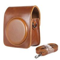 Classic Vintage Compact PU Leather Case Bag for Fujifilm Instax Mini 70 Ins Y4T7