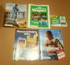 Vintage 1980s Magazine Advertisements -  Lot Of 4 Cigarette Smoking Ads NEWPORT
