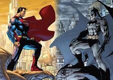BATMAN VS SUPERMAN WALL ART PRINT POSTER AMK1024