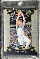 Luka Doncic 2018-19 Panini Select Concourse Rookie RC #25 Dallas Mavericks