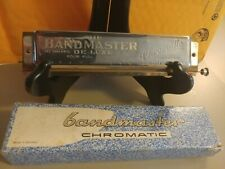 Vintage Hand Harmonica Bandmaster Deluxe Made In Germany Genuine Brass Reeds