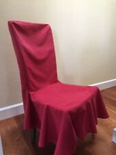 Pottery Barn: Set of six dining room chair seat covers
