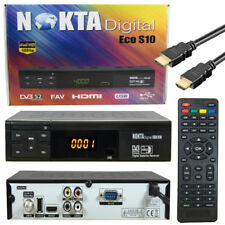 Satelliten TV-Receiver Full HDTV DVB-S2 1080p USB HDMI Nokta S10 SAT Reseiver