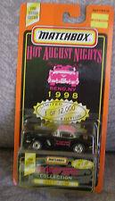 MATCHBOX 1998 HOT AUGUST NIGHTS Reno - 1962 CORVETTE --- Next Day BOX Shipping