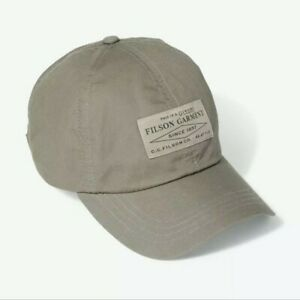 CC FILSON Lightweight Angler Cap Light Olive Low-Profile One Size Fits Most
