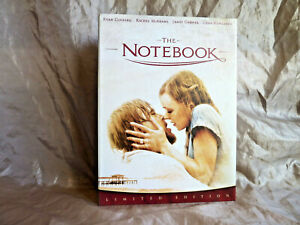 THE NOTEBOOK - LIMITED EDITION DVD - COLLECTORS EDITION - REGION 4 AUSTRALIA
