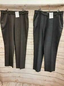 M and S ladies trousers 2 pairs 14 short