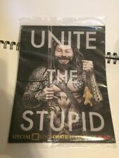 MAD UNITE THE STUPID SPECIAL EDITION COMIC BOOK LOOT CRATE EXCLUSIVE 2015