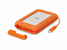 LaCie Rugged Thunderbolt USB-C 500GB,External (STFS500400) (SSD) Solid State Drive