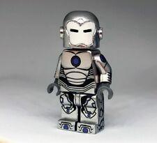 Superior Iron Man Comic Style Minifigure Custom Made With Lego Bricks