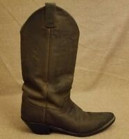 Justin L4935 Bay Apache Women Brown Leather Western Riding Cowboy Boots Size 8 B