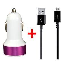 Caricabatterie e dock rosa per cellulari e palmari Samsung con USB