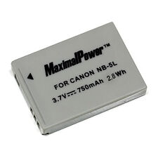 For CANON NB-5L Camera Battery PowerShot ELPH SD700 SD790 SD800 SD850 SD870 IS