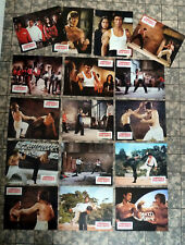 BRUCE LEE * WAY OF THE DRAGON - 16 Lobby Cards cpl SET German RR´79 CHUCK NORRIS