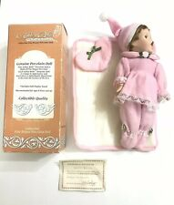Vintage Ashley Belle Nite-Nite Babies Porcelain Limited Edition Doll New W/ Box