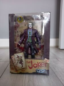NECA Joker Batman Dark Knight Figure, Heath Ledger, DC Comics Collectible