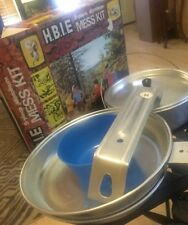 H.B.I.E 5 Piece Aluminum Mess Kit New In Box