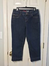 Tommy Hillfiger Size 8 Hope Crop Capri Style Blue Jeans