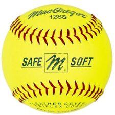 MacGregor Safe/Soft Training Softballs, 1 Dozen W