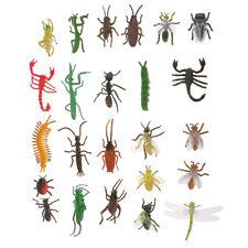 Plastic Insect Model Ladybug Scorpion Bee Ant Bugs Kids Animals Toys