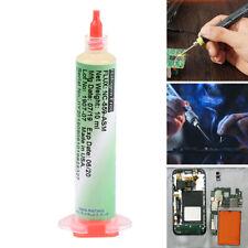 AMTECH BGA Soldering Paste Flux with Syringe Plunger Needle for Phone Solder HU