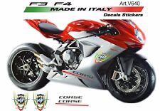 Sticker Set für Motorrad MV Agusta F3/F4 800 red