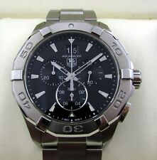 Tag Heuer Aquaracer Chronograph Gents Watch CAY1110 RRP £1750 Box & Papers 2016