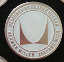 ORIGINAL MEDALLION Designed by George Nelson for HERMAN MILLER Chair Table Eames