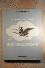 LE MERVEILLEUX VOYAGE DE NILS HOLGERSSON (499SL) TRAVERS LA SUEDE 1955 LAGERLOF