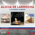 NEW Alicia De Larrocha: Three Classic Albums [3 CD][Limited Edition] (Audio CD)