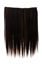 Postiche large Extensions cheveux 5 Clip lisse Noir-brun-Blond-Mix 45cm L30173