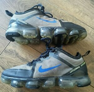 Men's Nike Air VaporMax 2019 Trainers In - Black Racer Blue Volt in Size 6 UK