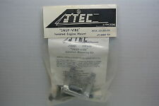 J'TEC RADIAL ISOLATED ENGINE MOUNT with SNUF-VIBE  FOR OS MAX .20FP or .25FP NIB