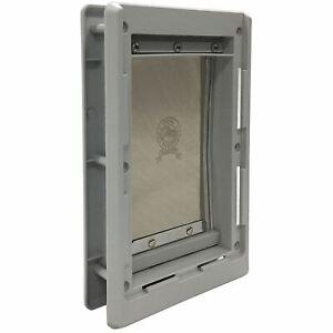 """Ideal Pet Products Designer Series Pet Door Small Grey 2.12"""" x 7"""" x 10.62"""""""
