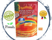 2 PACK - Hawaiian Sun PINEAPPLE COCONUT PANCAKE MIX  Natural flavored FRESH