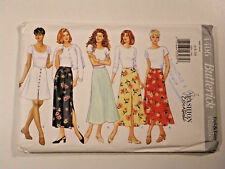 B-4406 A-Line Skirt Sewing Pattern Butterick Size 6-8-10 Uncut