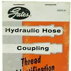 Gates Rubber Hydraulic Hose Coupling Thread Identification ID Guide 35095-H 1965