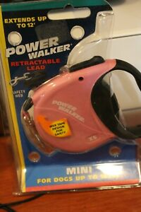 Coastal  Mini. Retractable Lead New in Package Pink