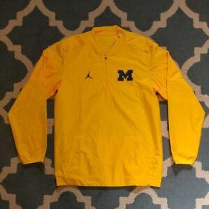 Jordan Nike Michigan Wolverines Mens Jacket Pullover Windbreaker Jumpman