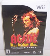 New! AC/DC Live: Rock Band Track Pack  (Nintendo Wii, 2008) {2892}