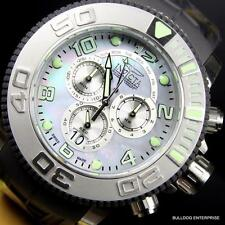 Invicta Sea Hunter Platinum MOP 58mm Full Sized Swiss Made Chronograph Watch New