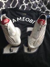Shola ameobi match worn boots Newcastle United Notts County ADIDAS f50 MANIA