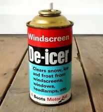 Vintage Car Windscreen De-Icer Can Automotive Classic Car Enthusiast Garage