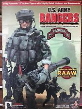 US Army Rangers 1st Battalion 75th Regiment 1/6 Scale HOT TOYS