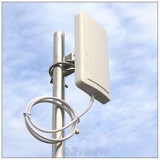 12dbi 2.4 g Wlan Wifi Wireless Antena de Panel Direccional Rp-sma rlkp-2400-d12l60